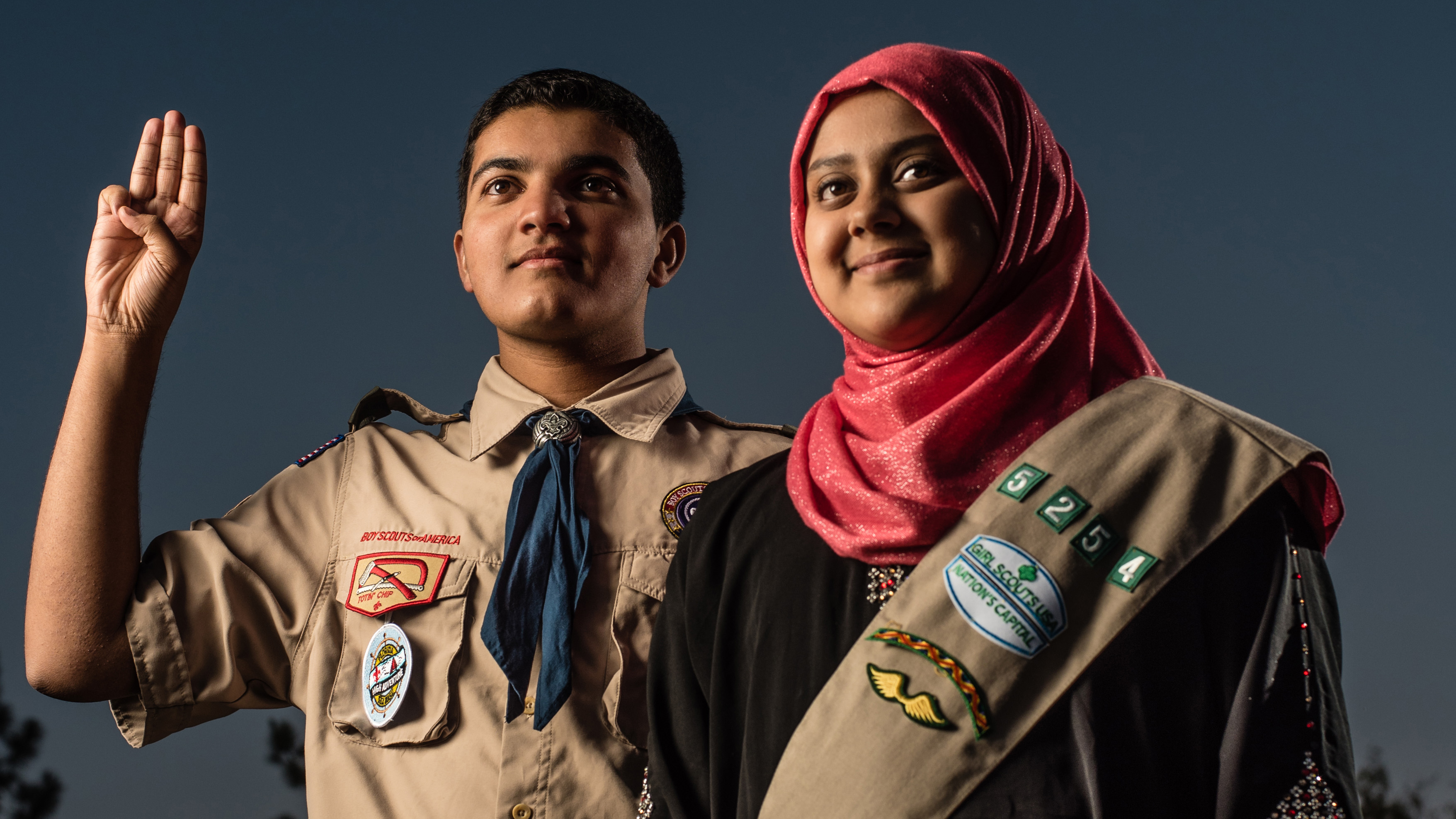 Muslim Scouts pursue an American tradition — in an America wary of Muslims