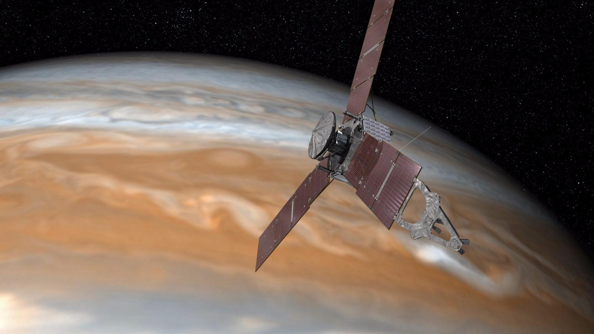 Success: NASA's Juno probe enters orbit around Jupiter