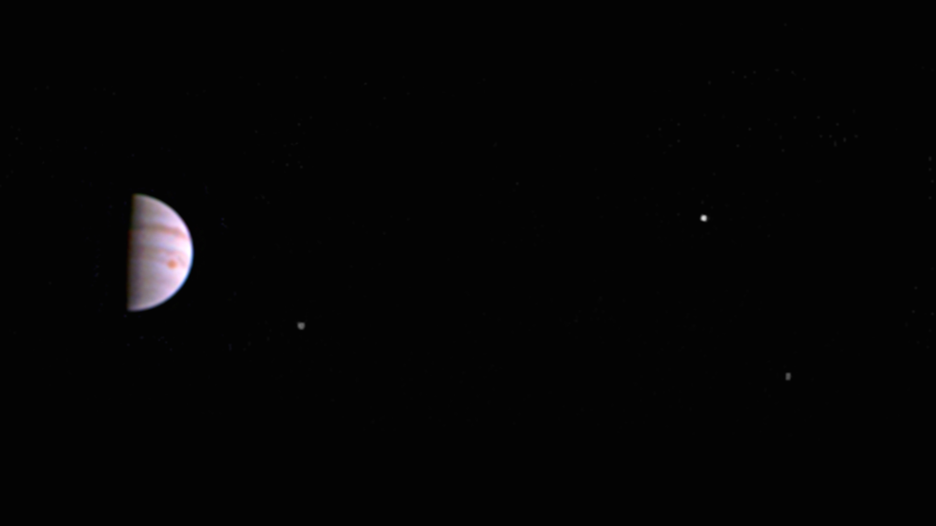 NASA's Juno probe beams back its first images from Jupiter's orbit