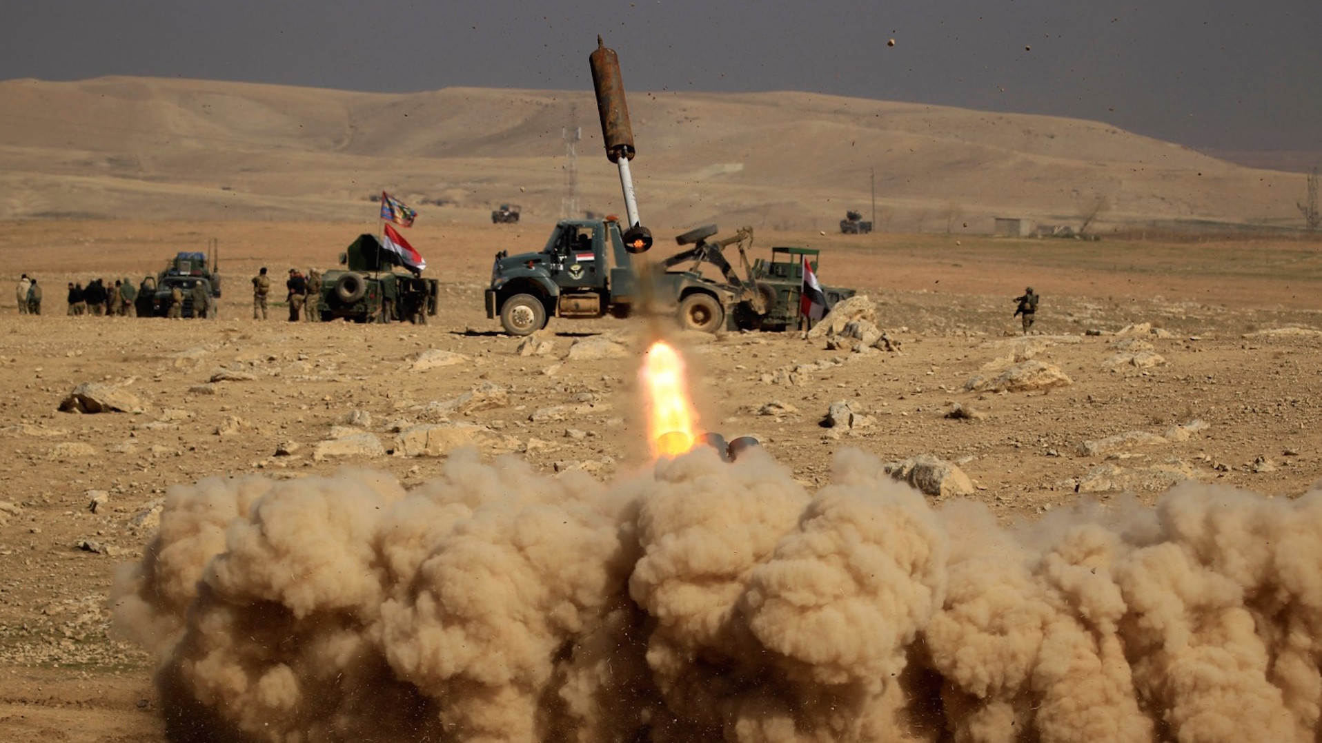 Iraq resumes offensive to retake Mosul from Islamic State, prime minister says