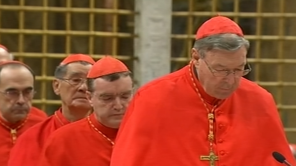 A top cardinal's sex-abuse conviction is huge news in Australia. But the media can't report it there.