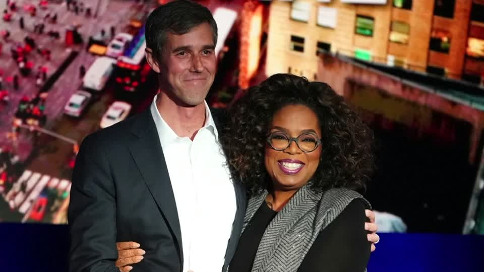 Beto O'Rourke meets Oprah Winfrey — and teases a presidential campaign