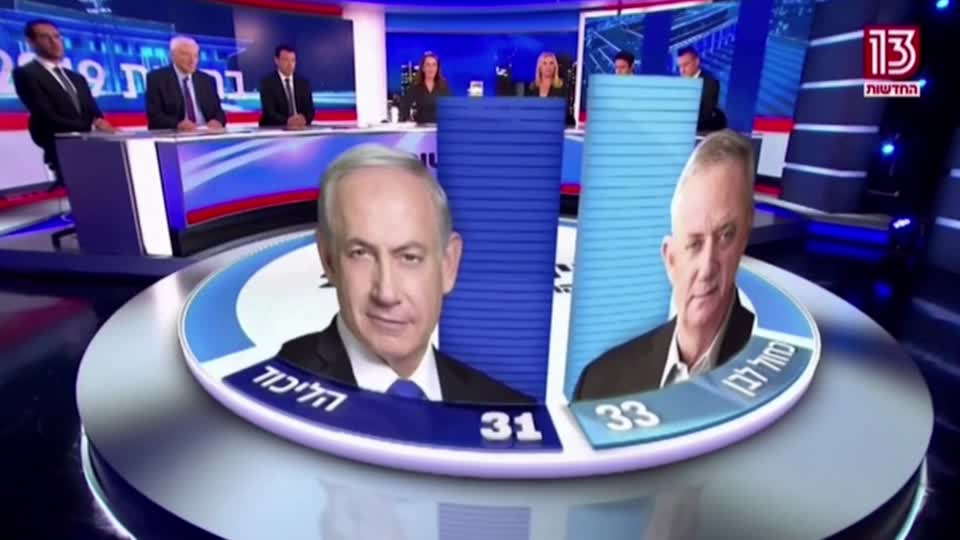 Israeli election leaves both major parties well short of a majority