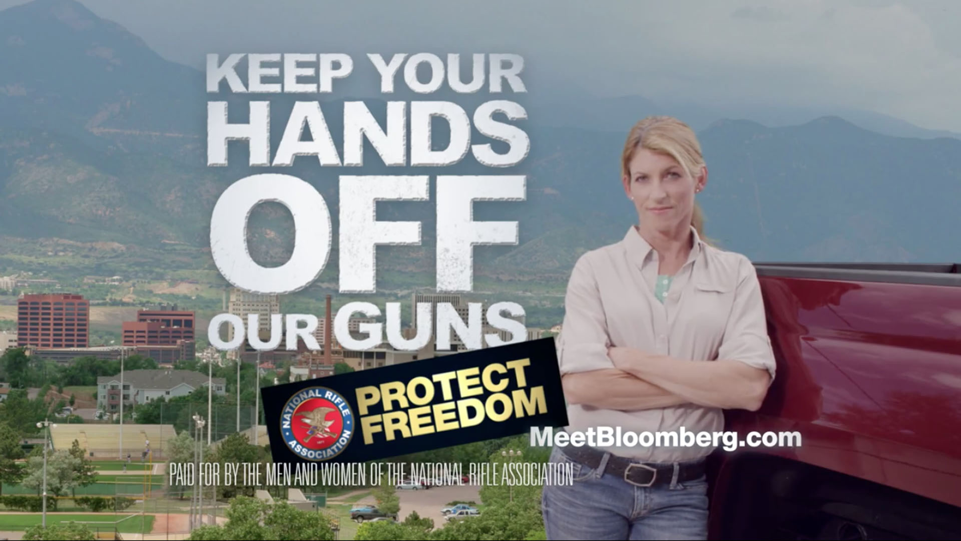NRA launches ad campaign attacking Michael Bloomberg
